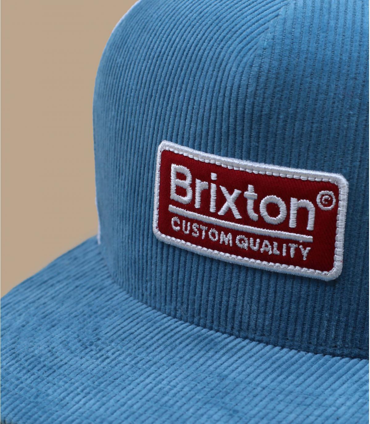 trucker bleu blanc Brixton