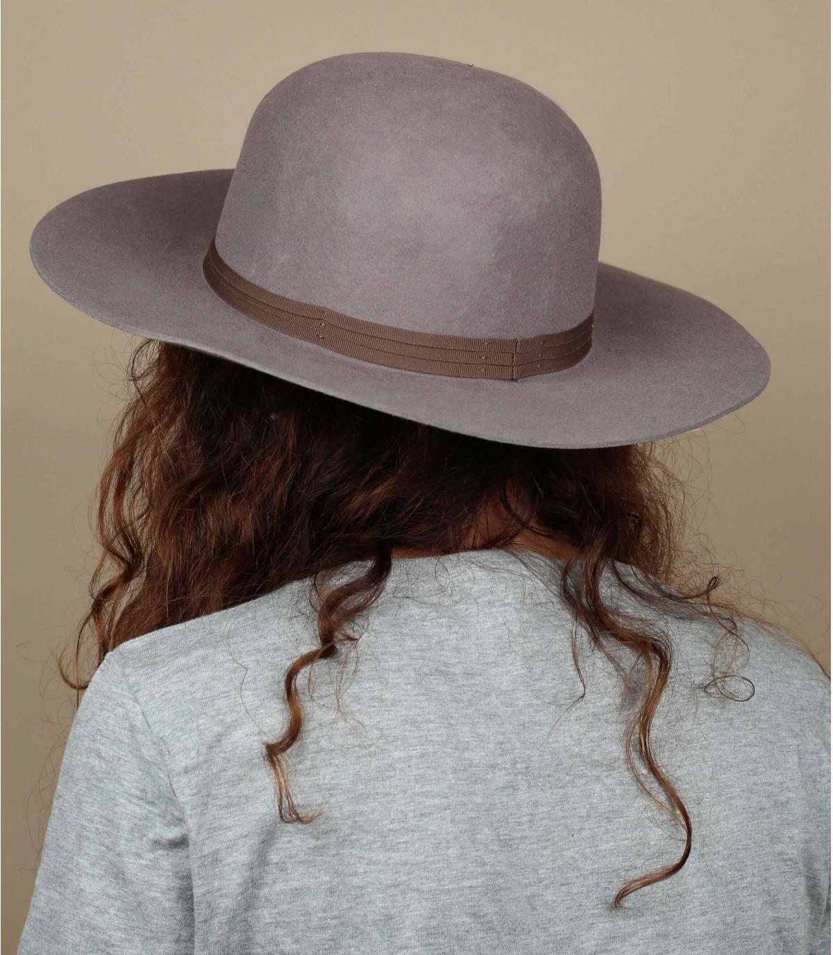 Chapeau Brixton femme beige