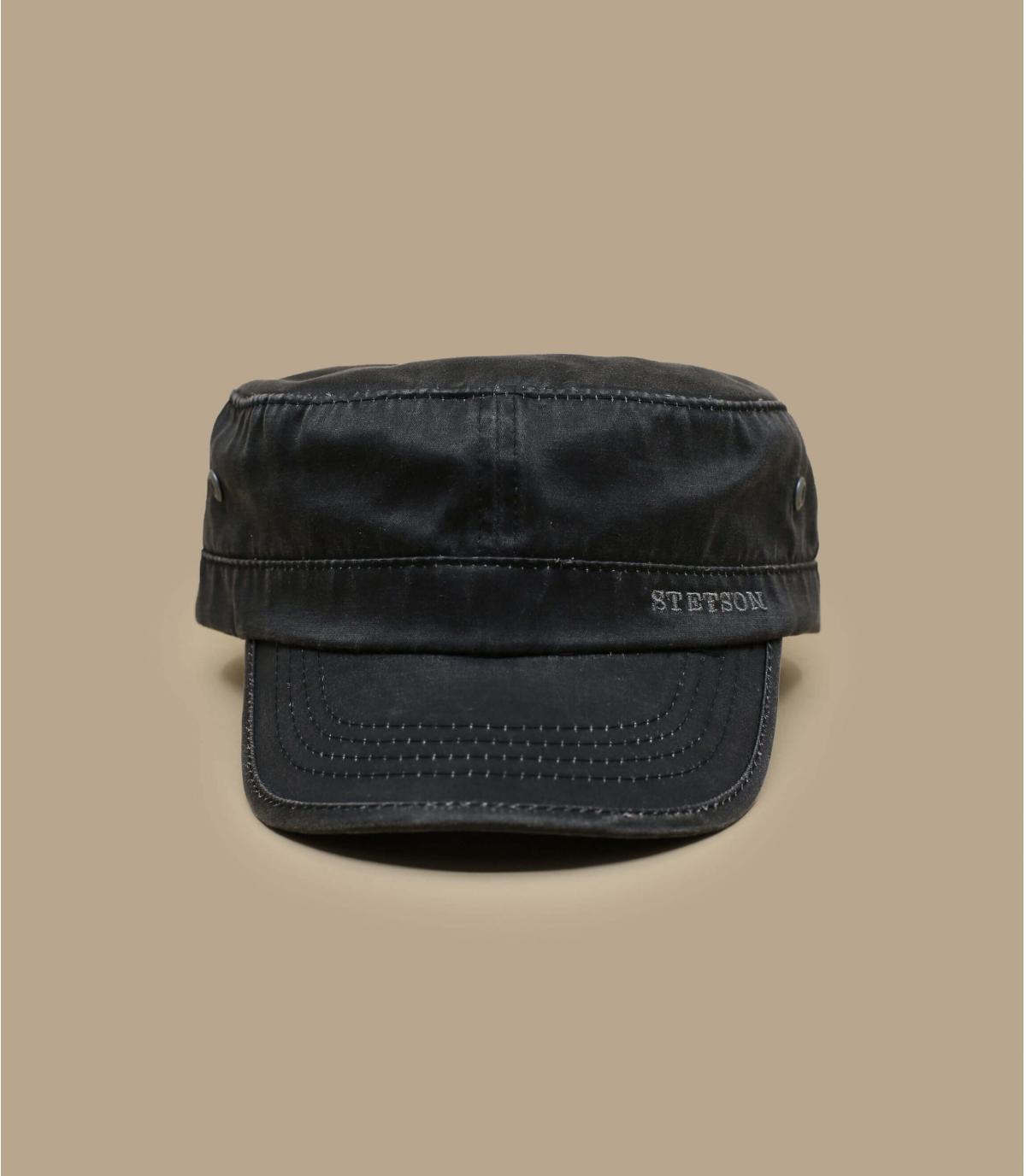 Détails Datto noir poly coton - image 2