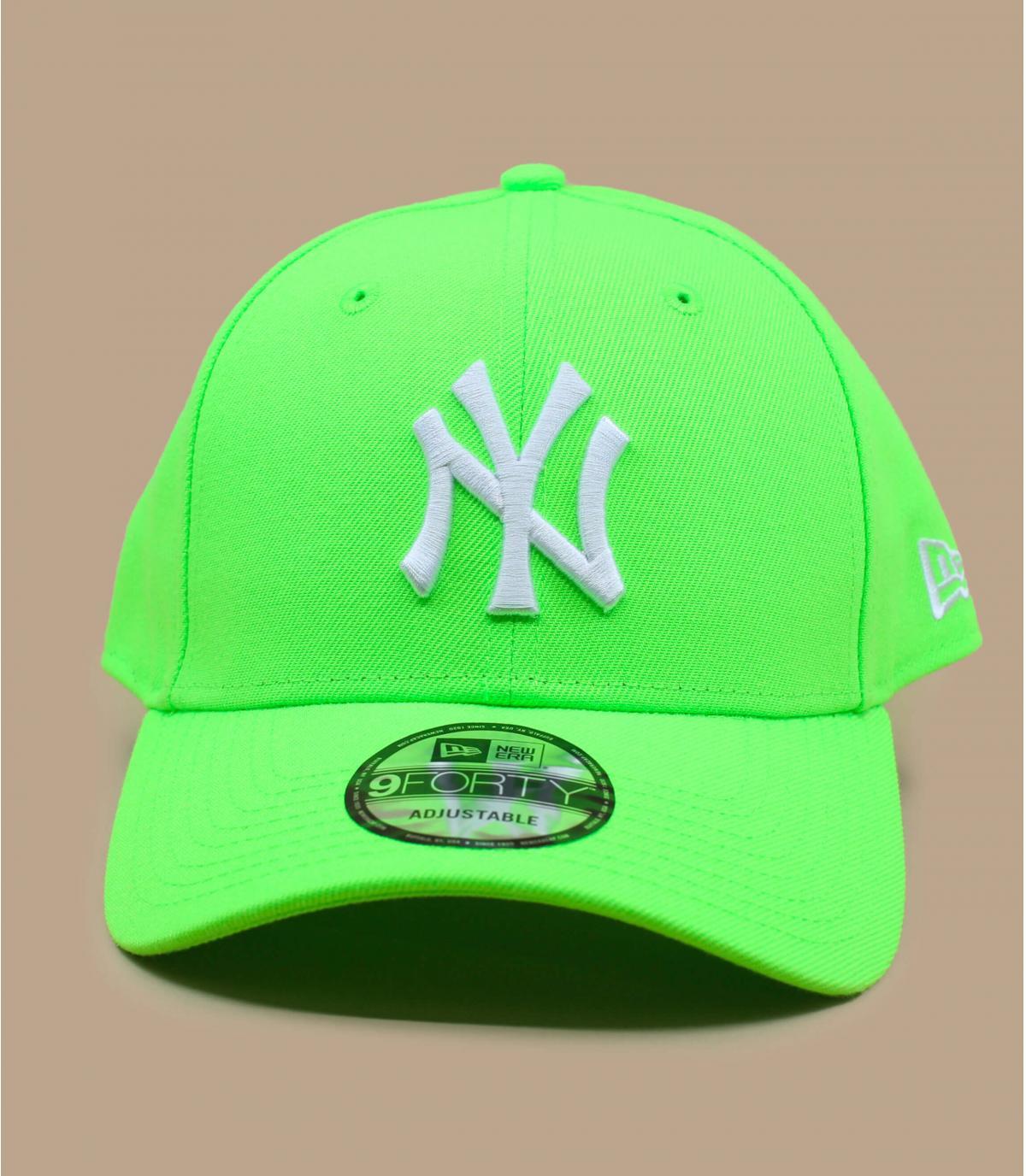 Détails Casquette Kids League Ess NY neon green - image 2