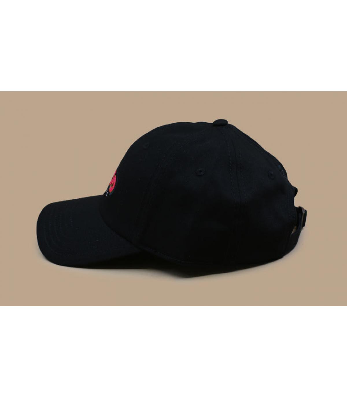 Détails Munchies Times Curved Cap black - image 4