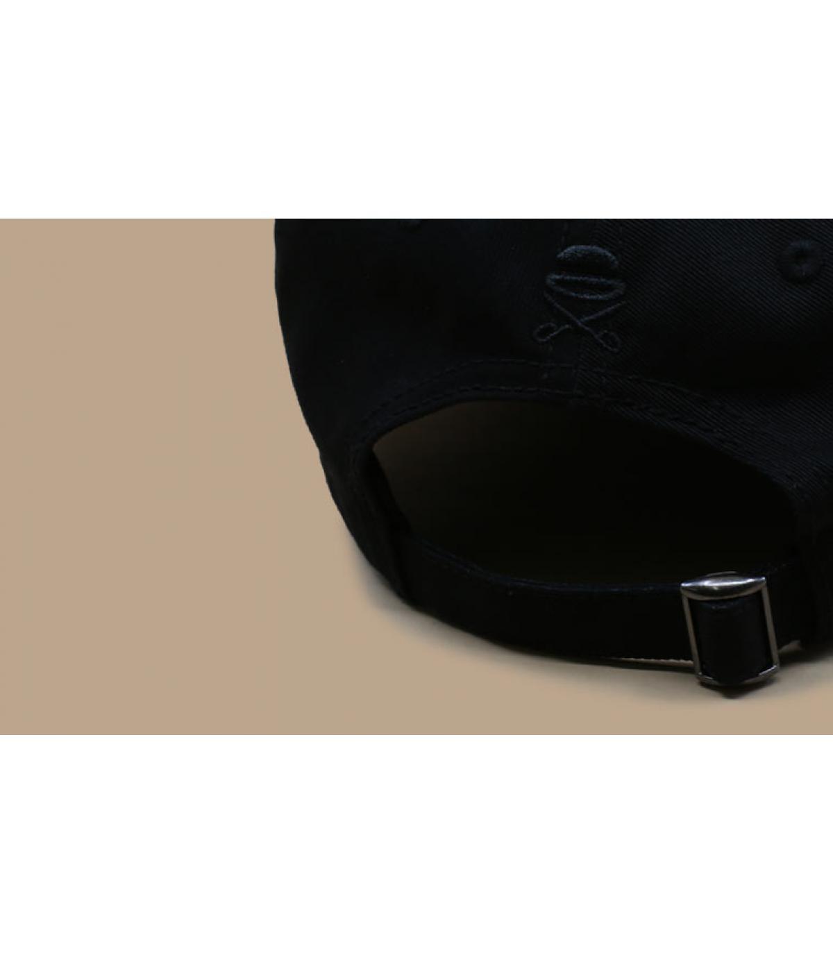 Détails Munchies Times Curved Cap black - image 5