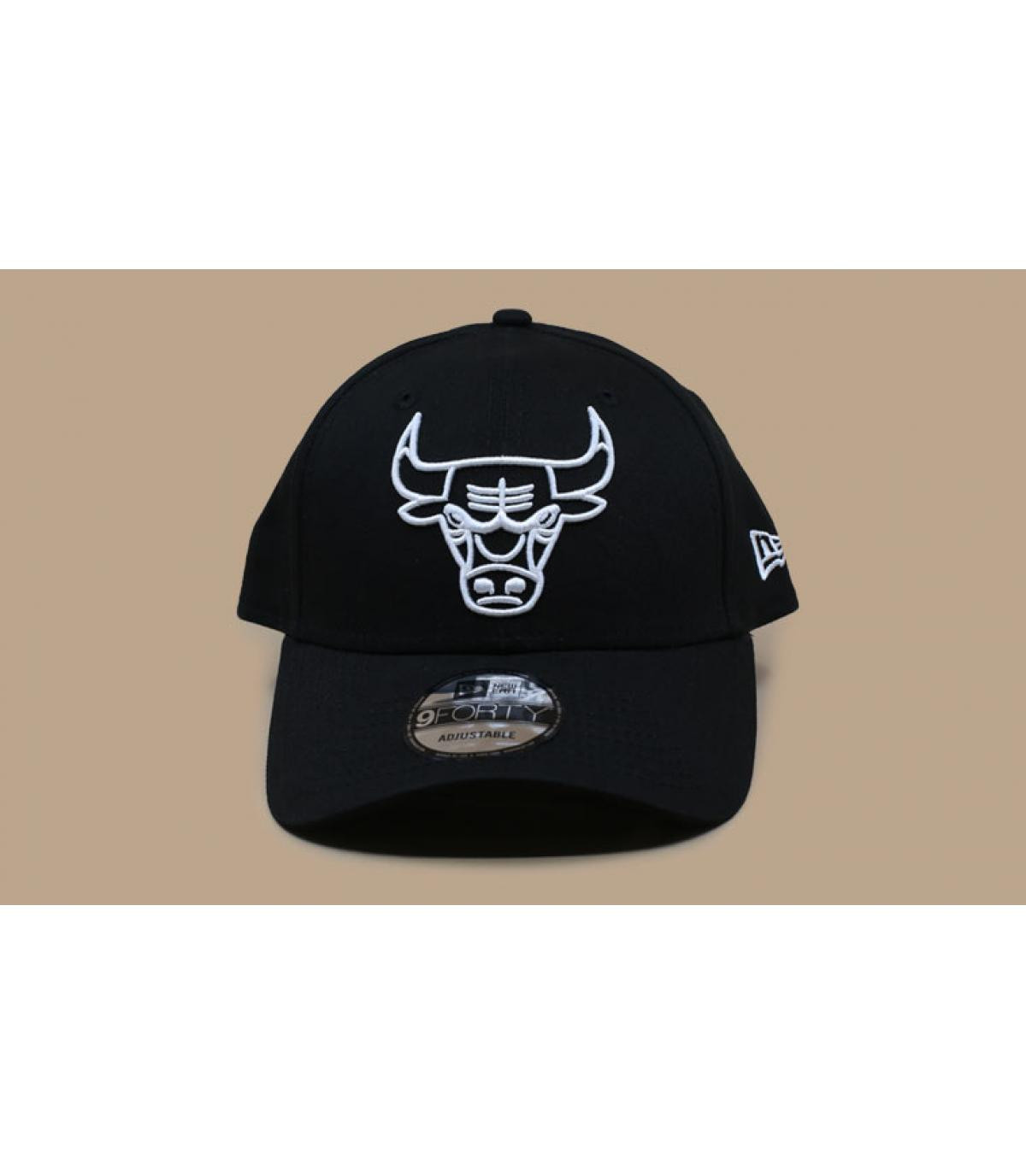 Détails Casquette NBA League Ess 940 Bulls black white - image 3