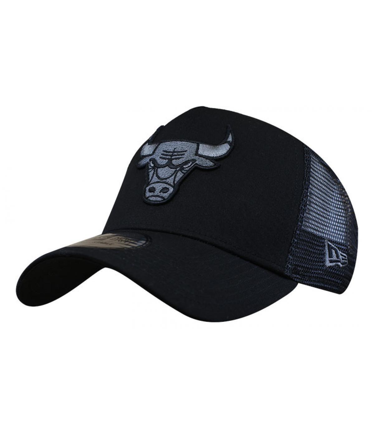 trucker Bulls noir