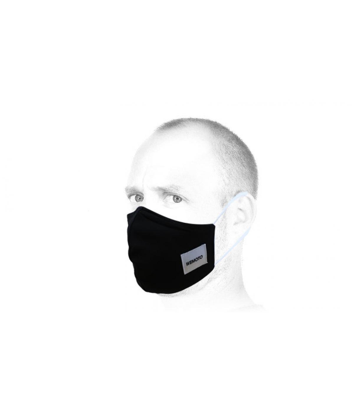 Masque noir Wemoto