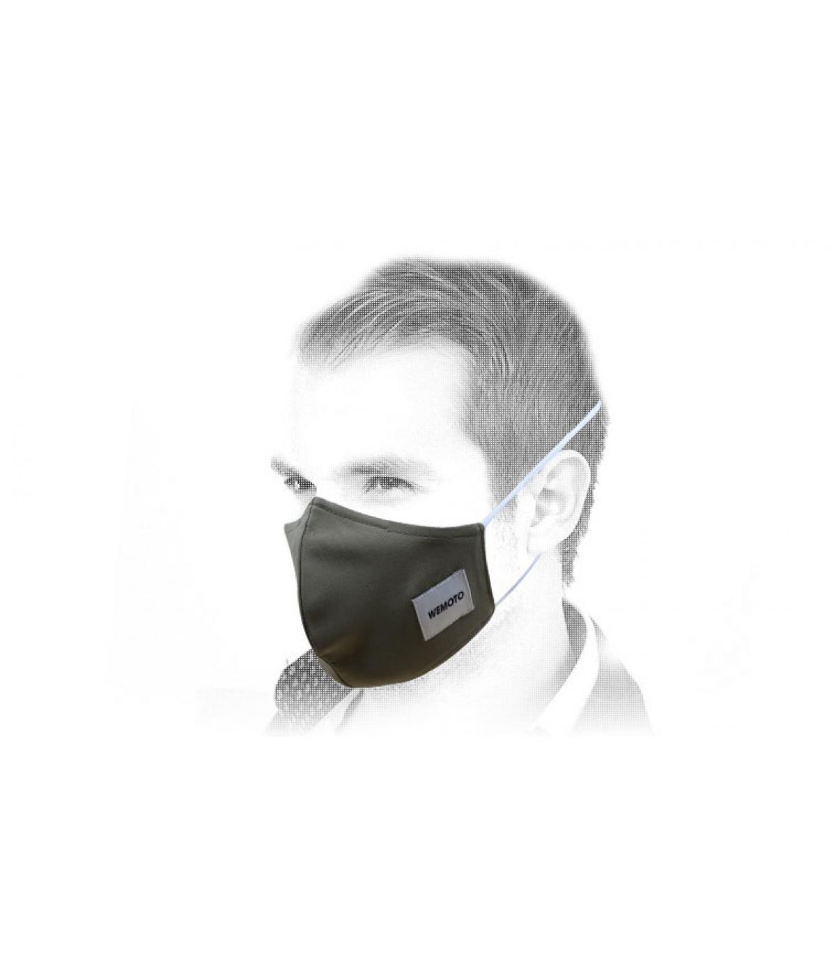 masque vert Wemoto