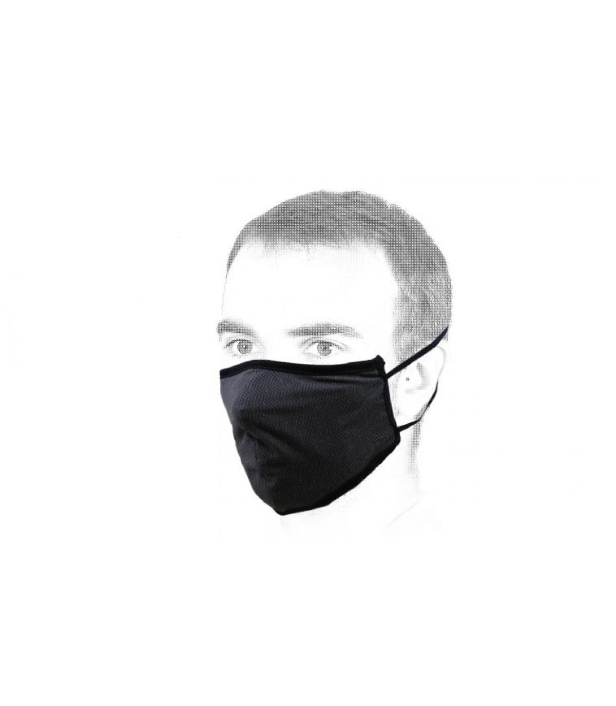 masque noir Brixton