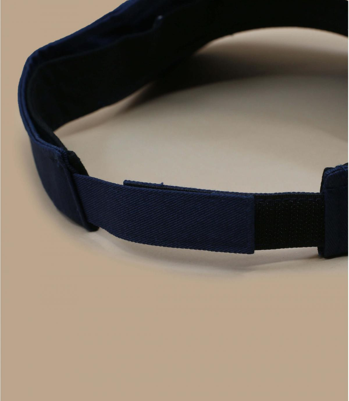 Détails Visière bleue marine - image 3