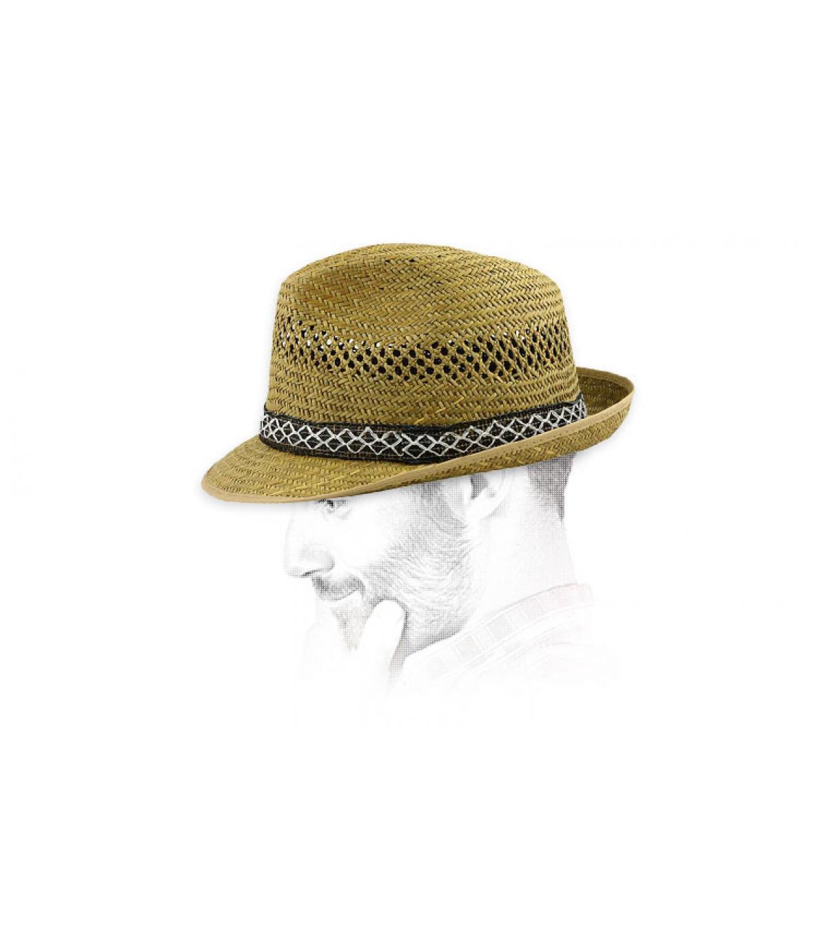 Chapeau en paille pour homme