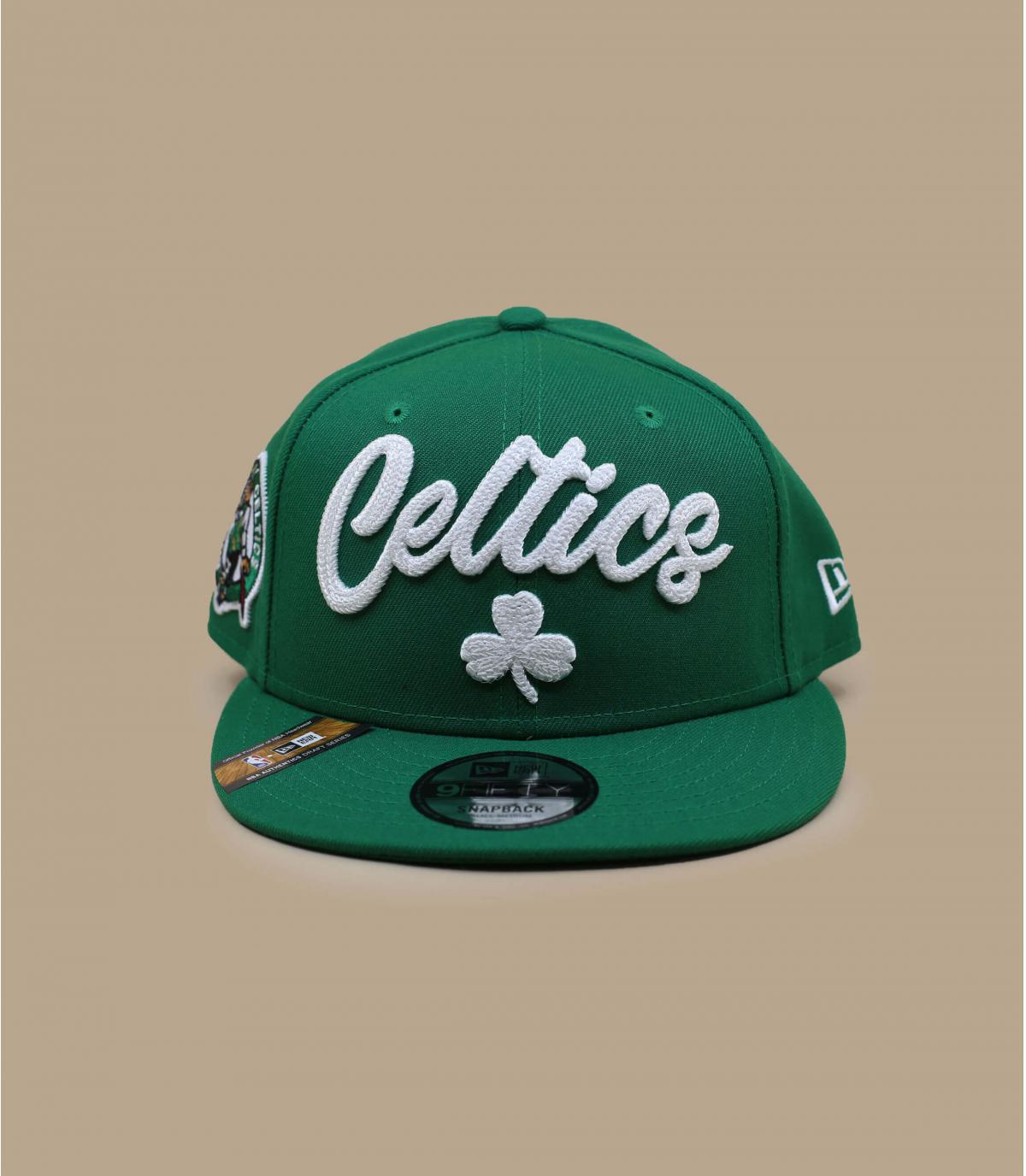 casquette Celtics vert