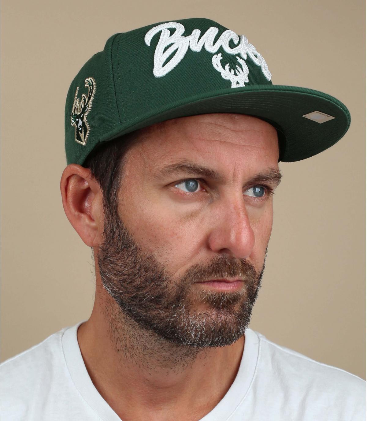 casquette Bucks vert