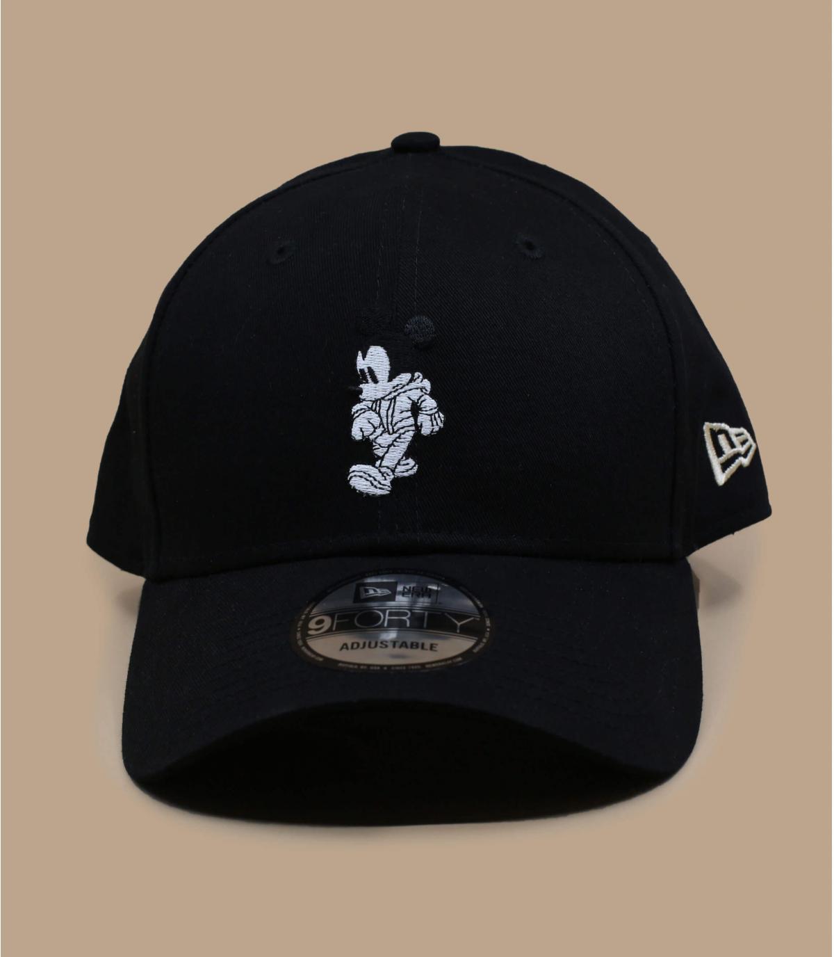 casquette Mickey noir