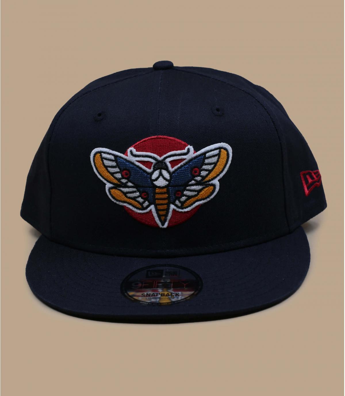 casquette papillon noir