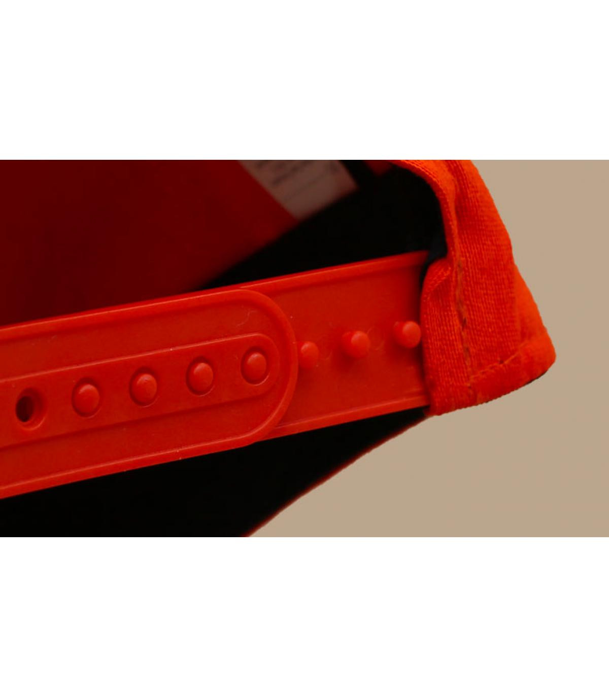 Détails Casquette Outdoors 950 Stretch orange - image 5