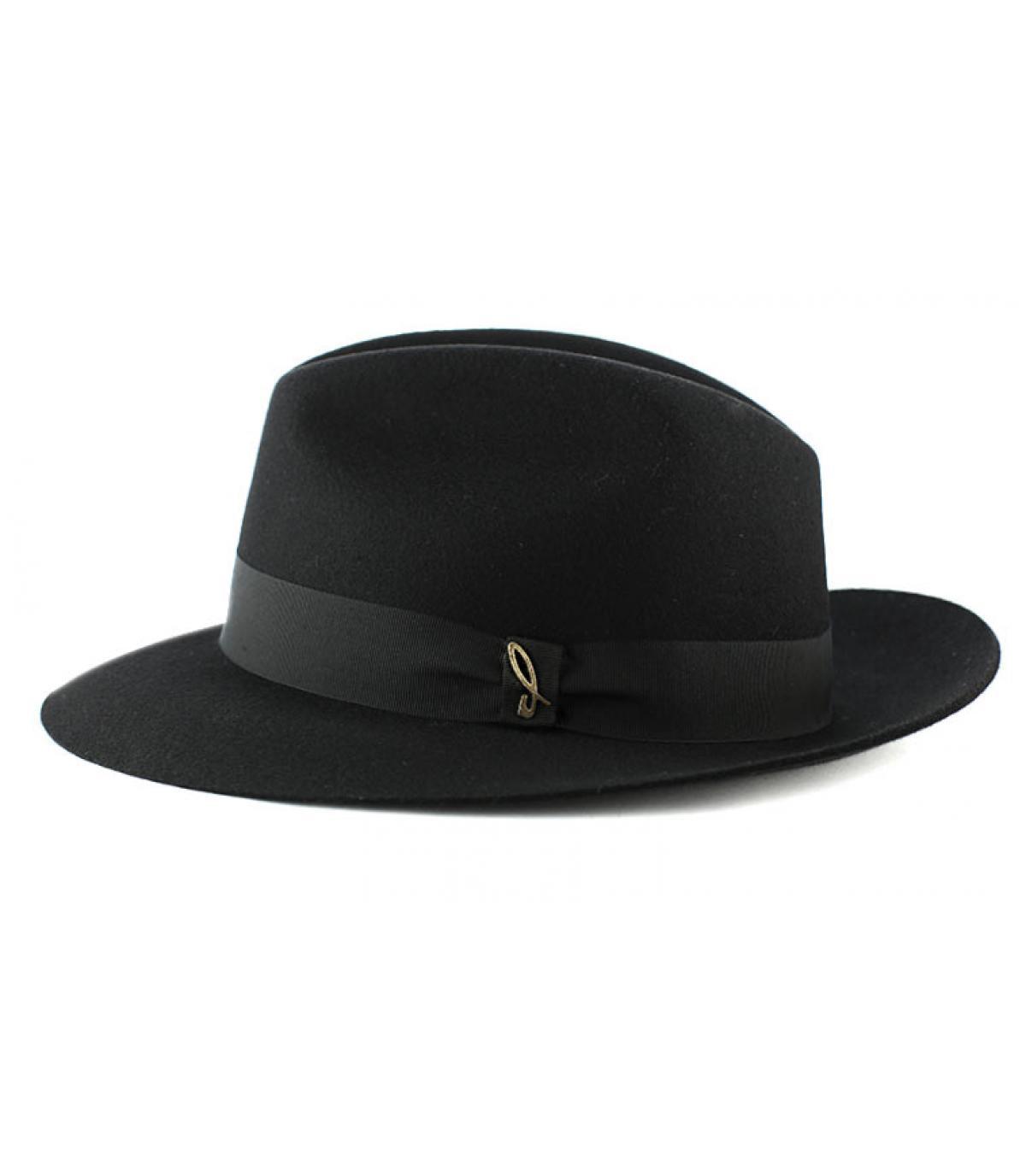 Chapeau feutre Doria noir