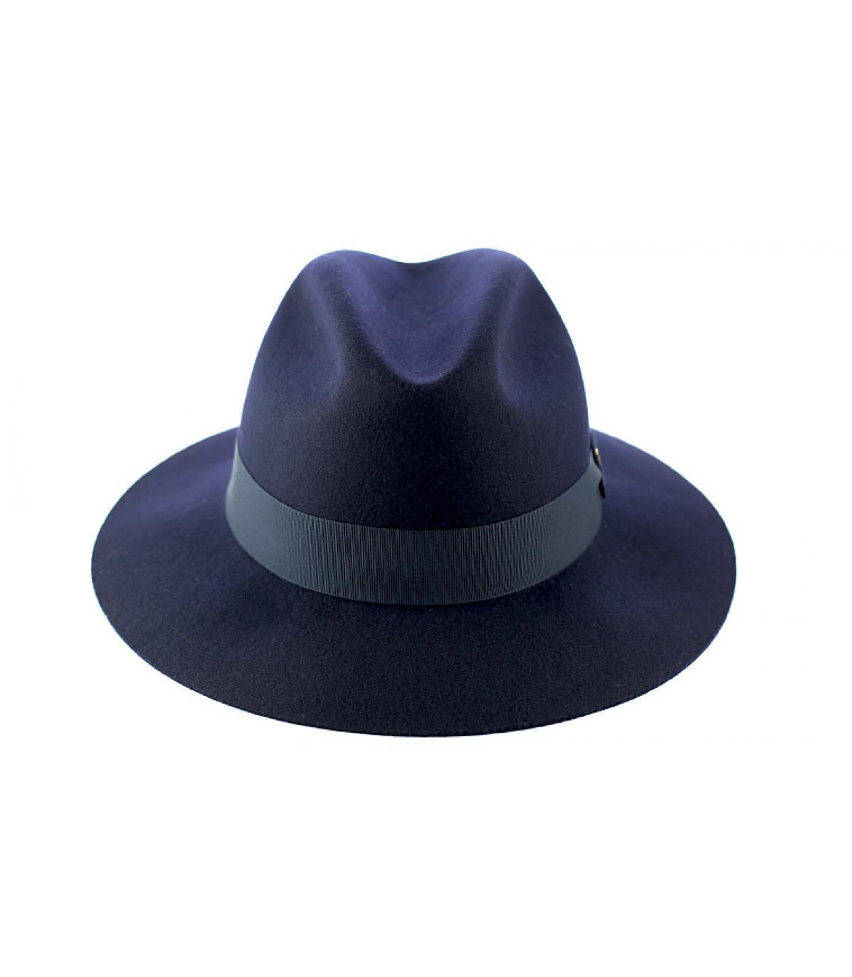 Chapeau femme Doria bleu marine