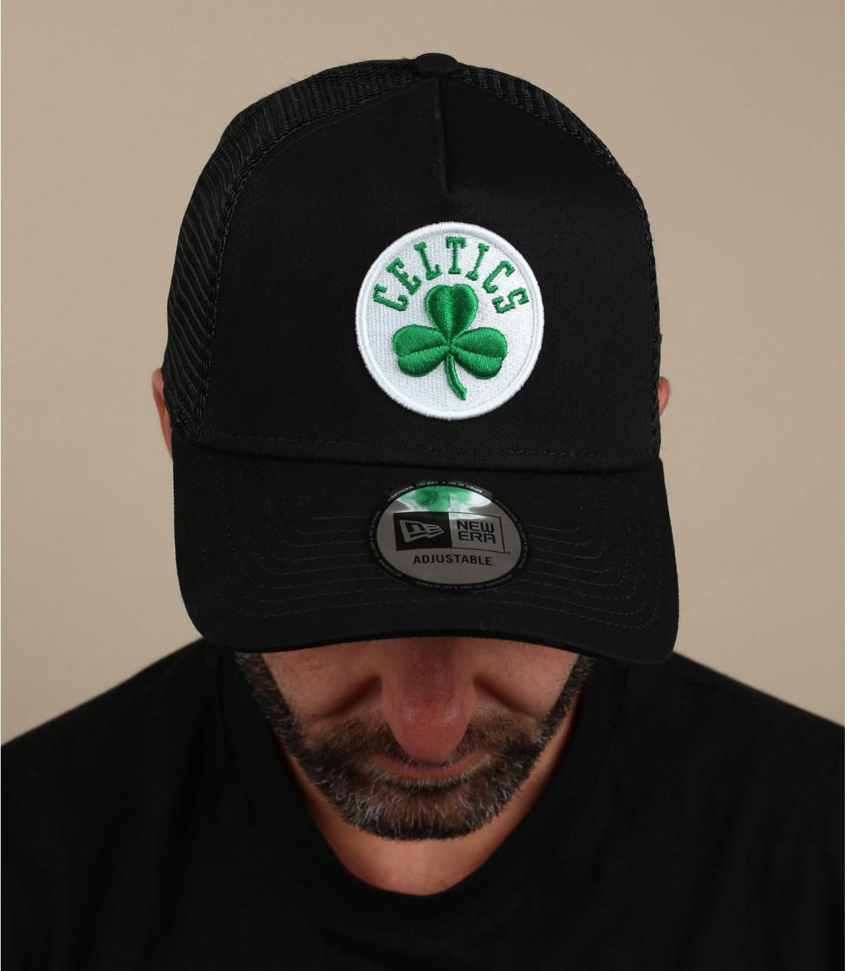 trucker noir Celtics