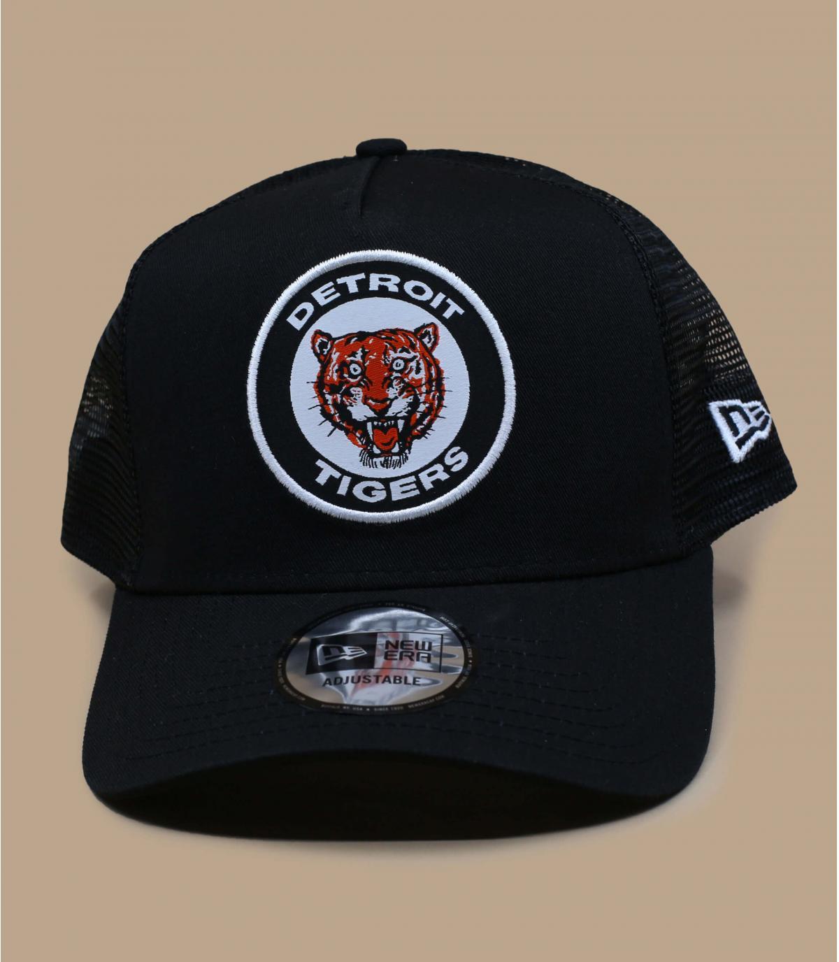 trucker Detroit Tigers noir