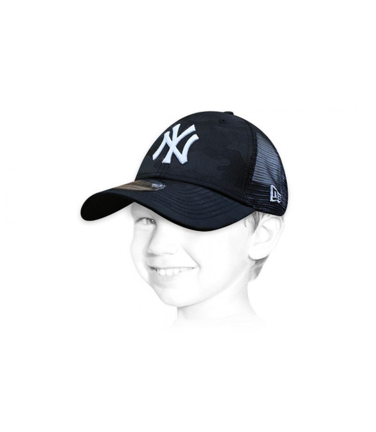 trucker enfant NY noir