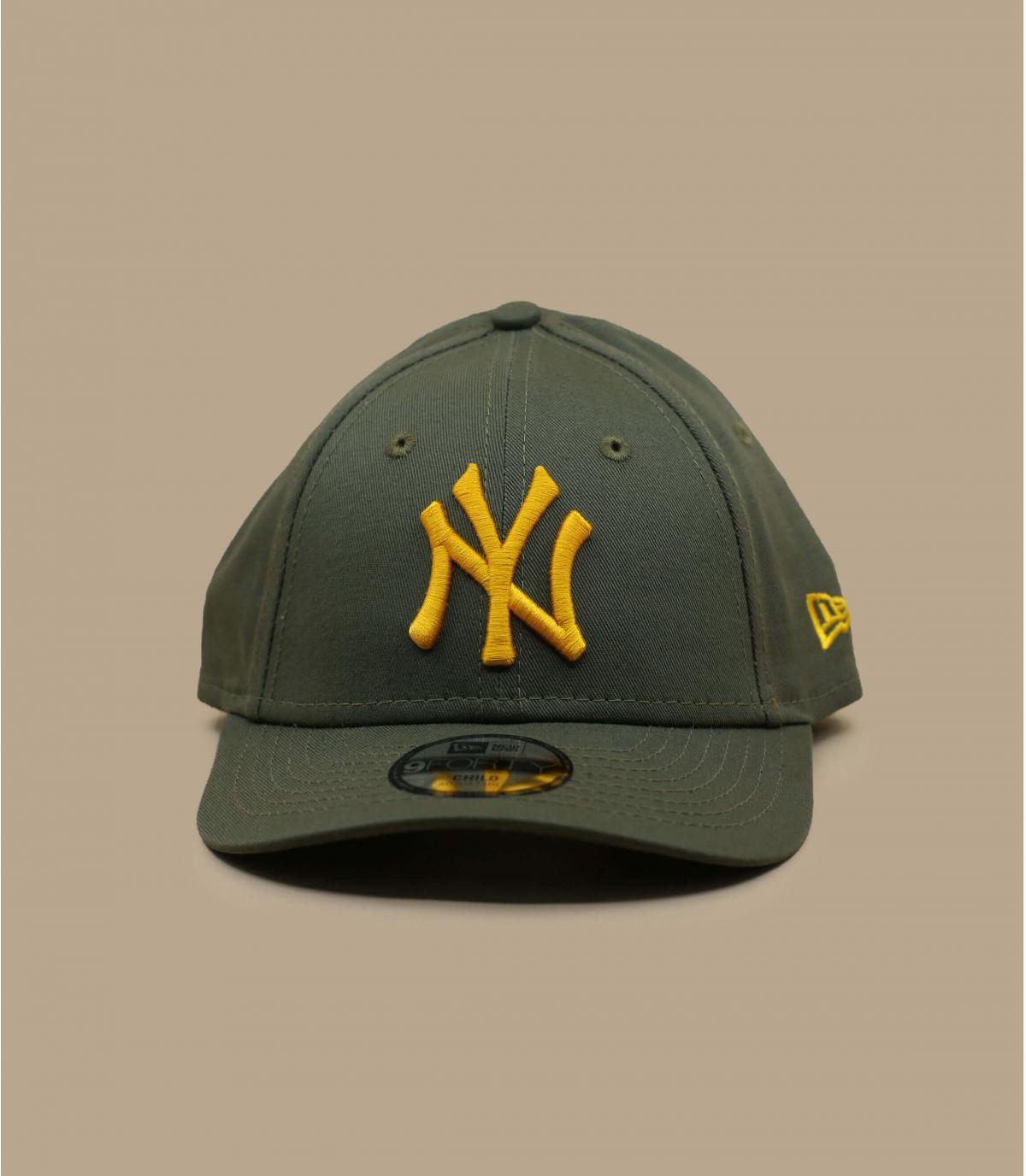 casquette enfant NY vert jaune