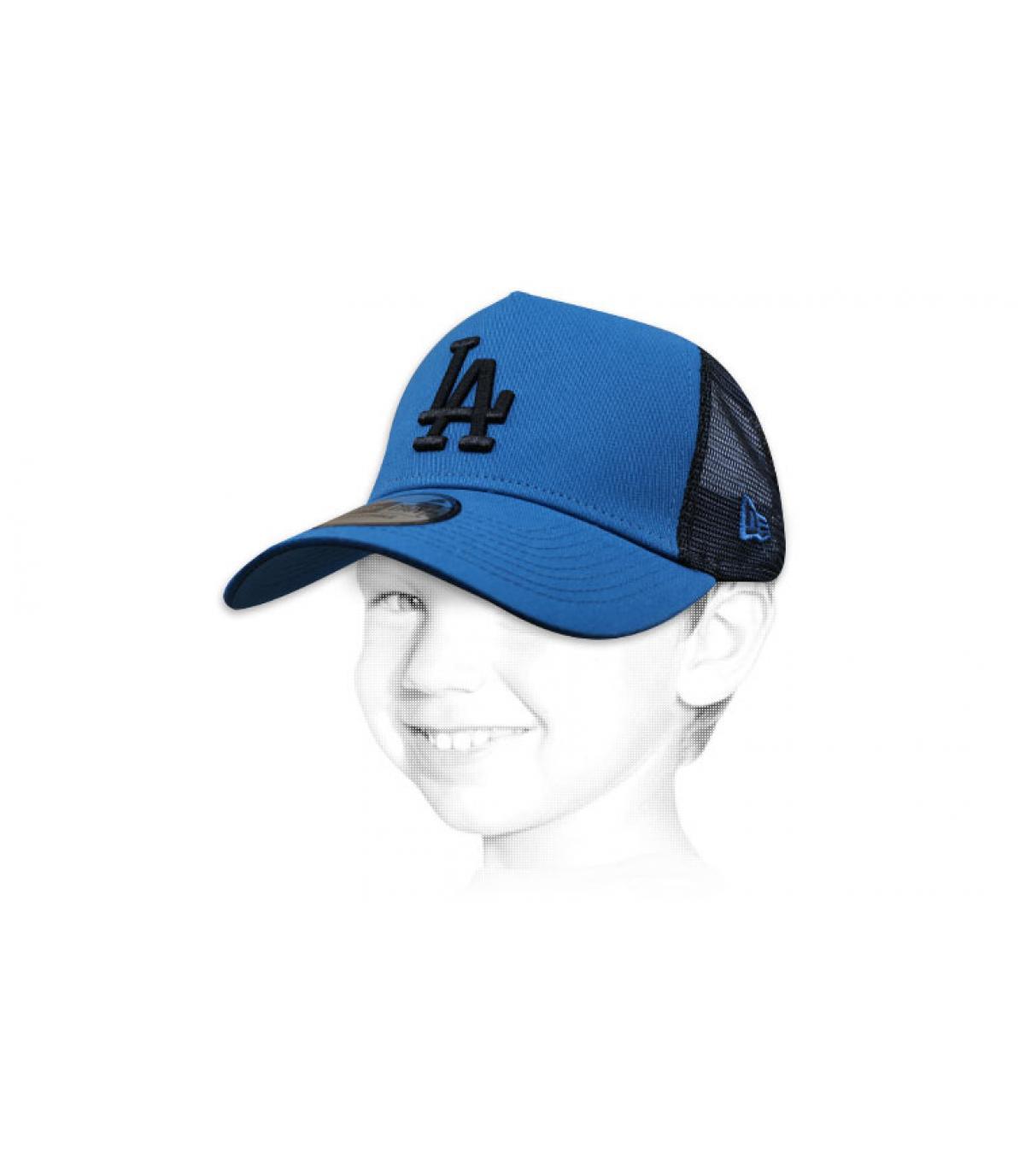 trucker enfant bleu LA