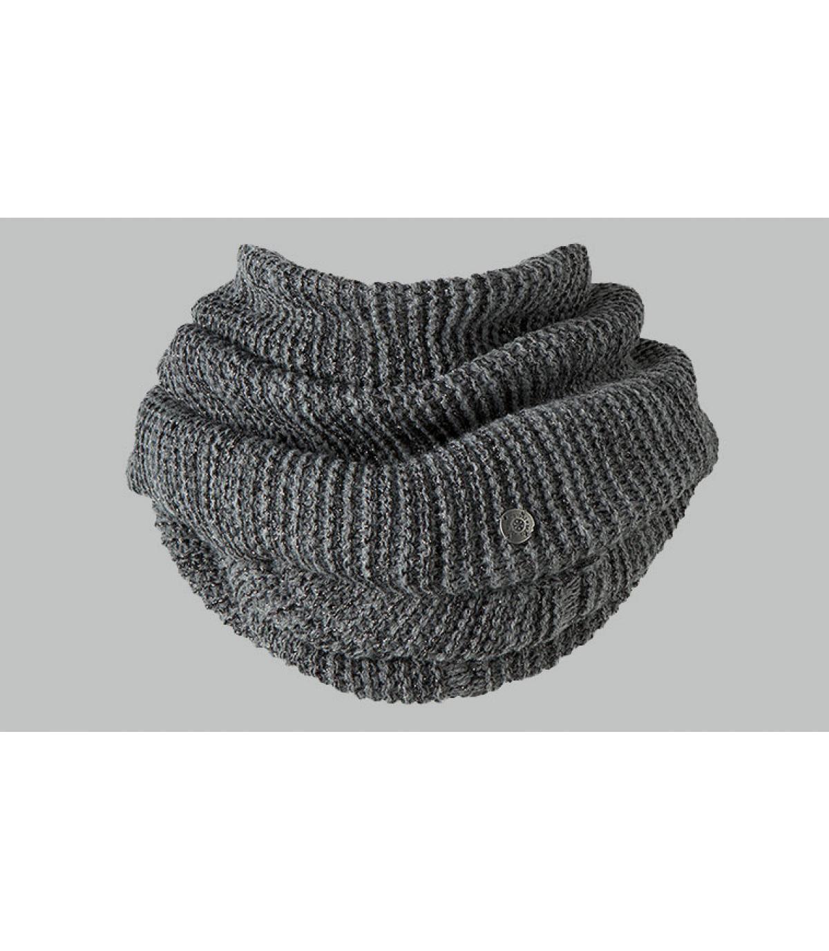 4ee49e75b94 Echarpe col gris