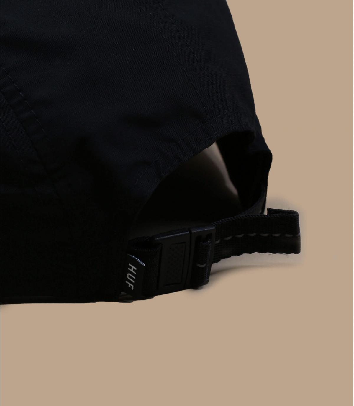 Détails Nylon Stash pocket 5Panel black - image 4