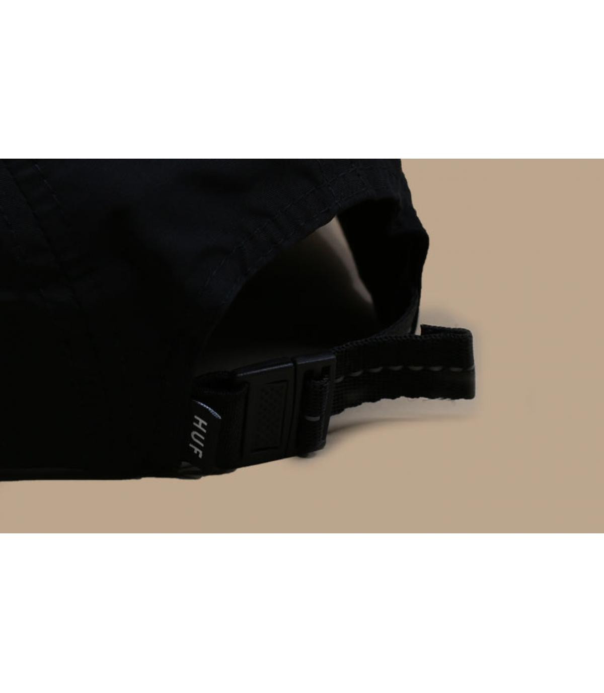 Détails Nylon Stash pocket 5Panel black - image 5