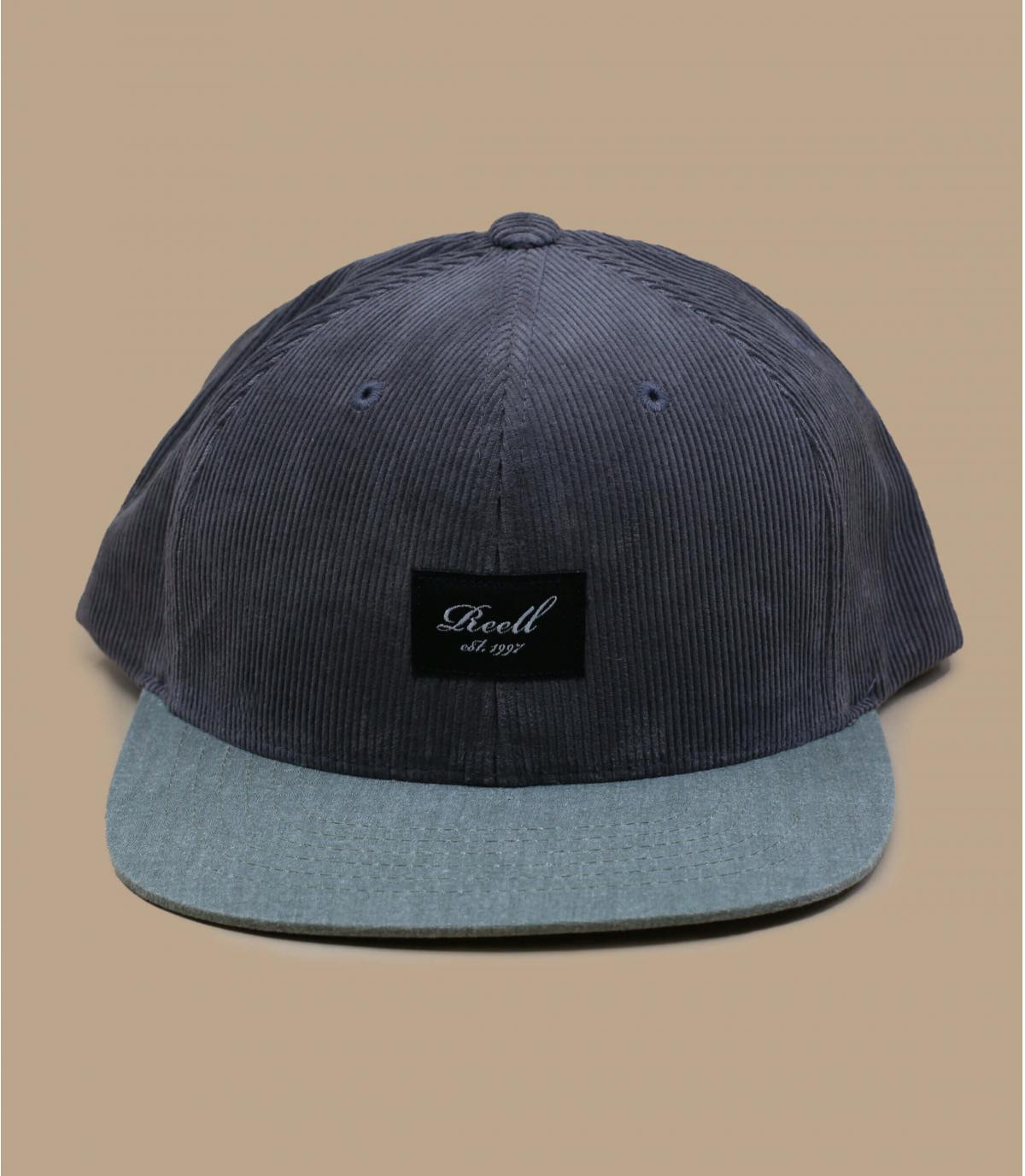 casquette velours gris Reell