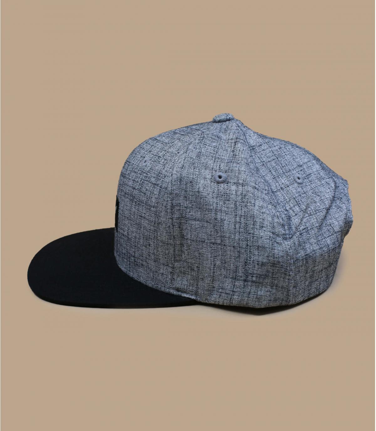 Détails Pitchout heather grey washed black - image 4