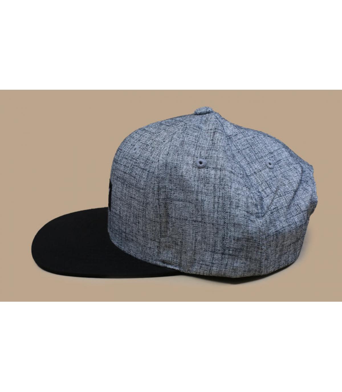 Détails Pitchout heather grey washed black - image 5