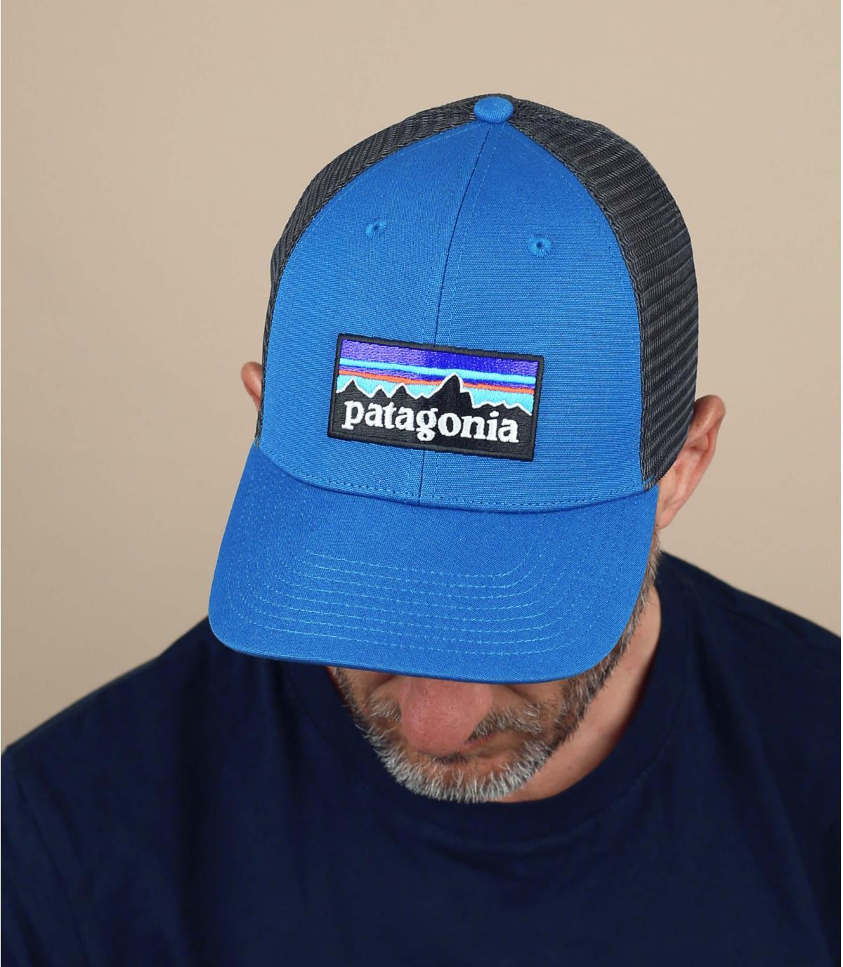 trucker Patagonia bleu