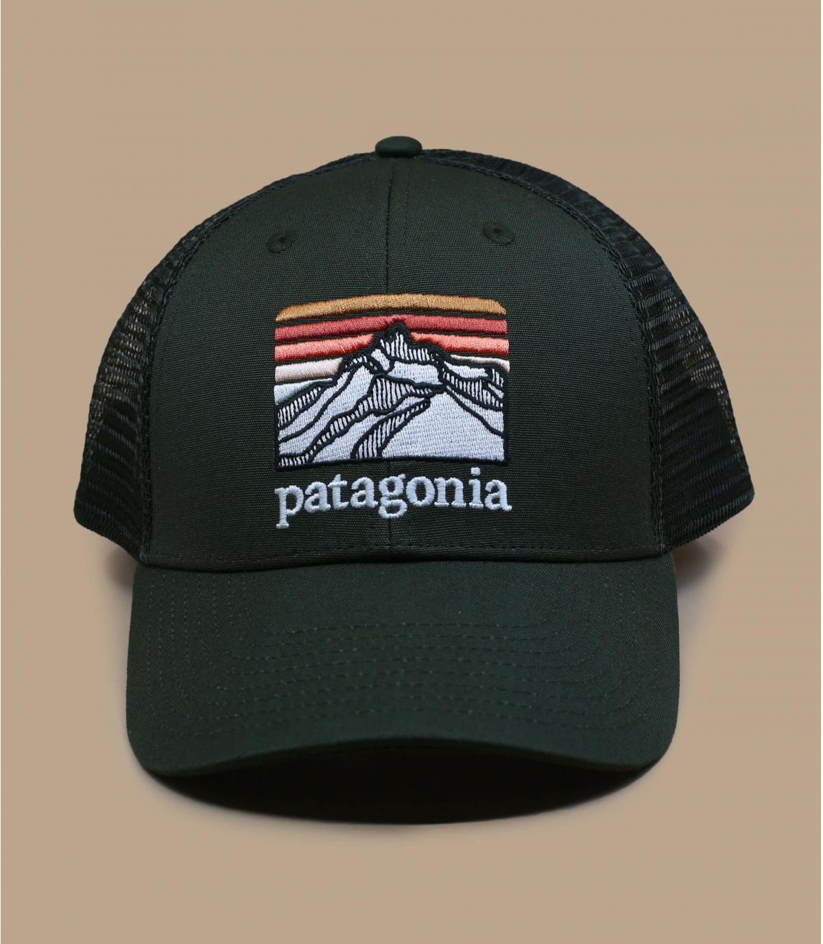 trucker Patagonia vert