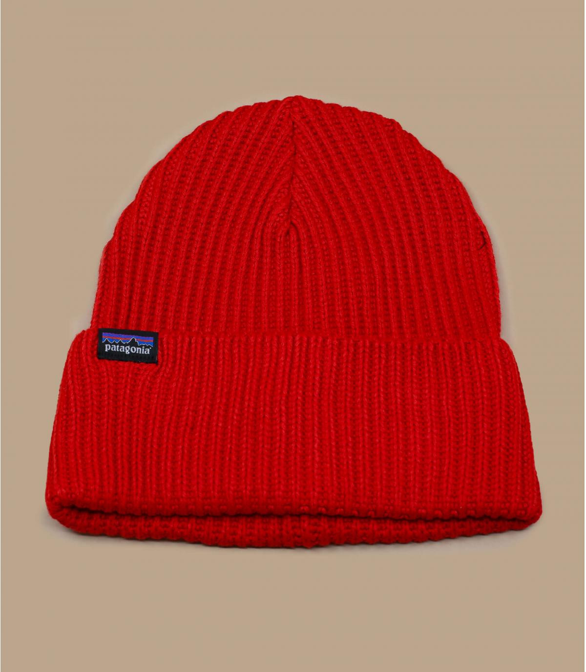Détails Fisherman's Rolled Beanie hot ember - image 2