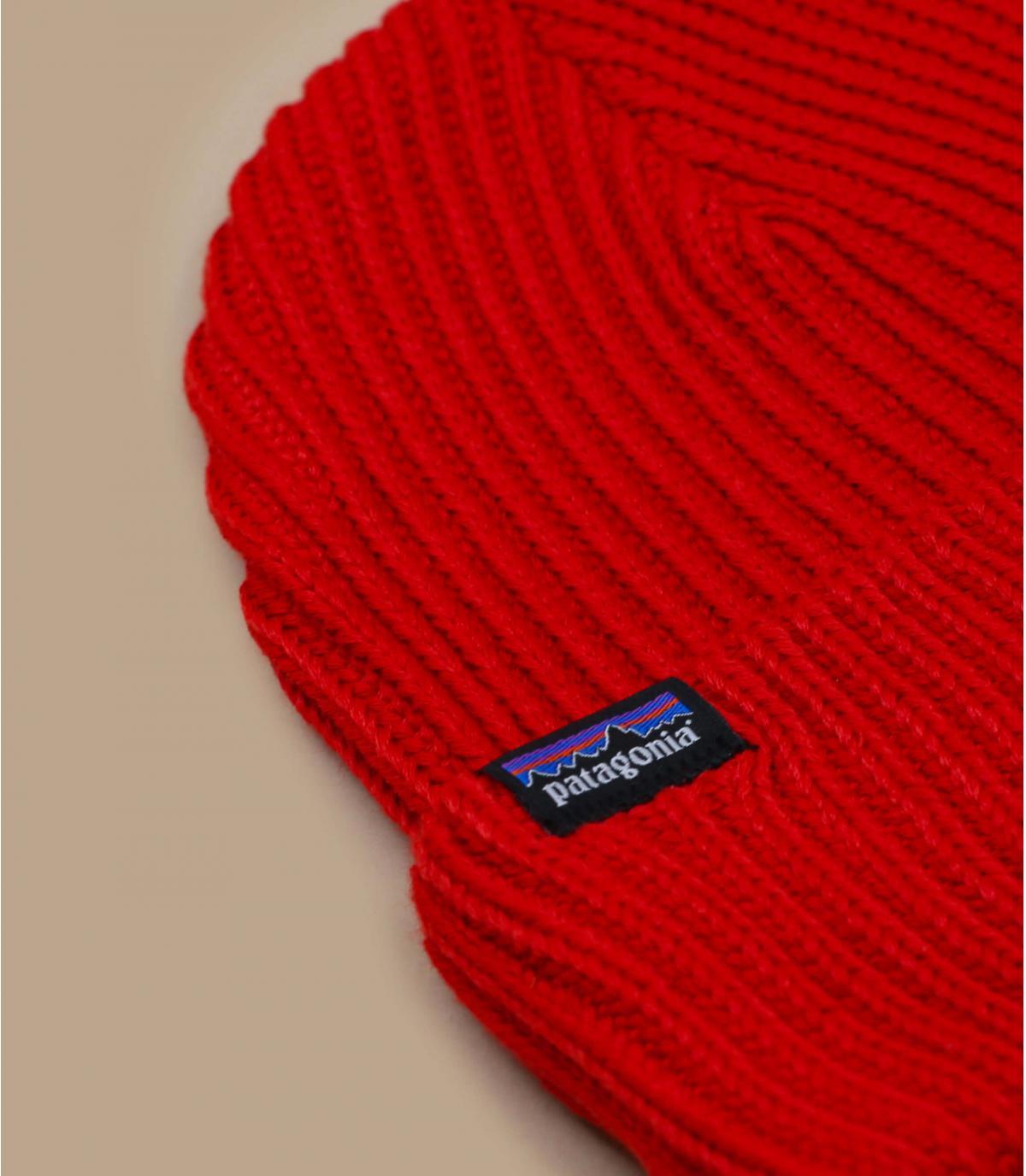 bonnet rouge revers Patagonia