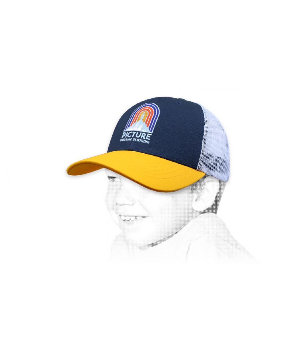 trucker enfant Picture jaune