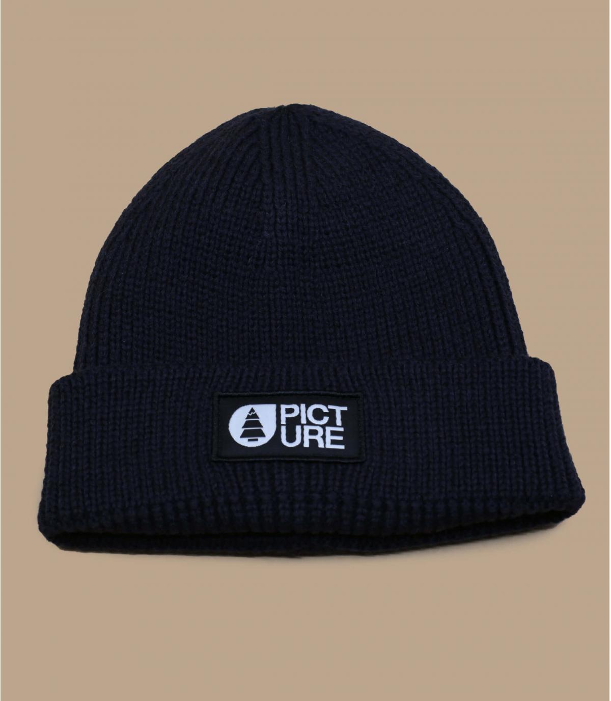 bonnet revers Picture noir