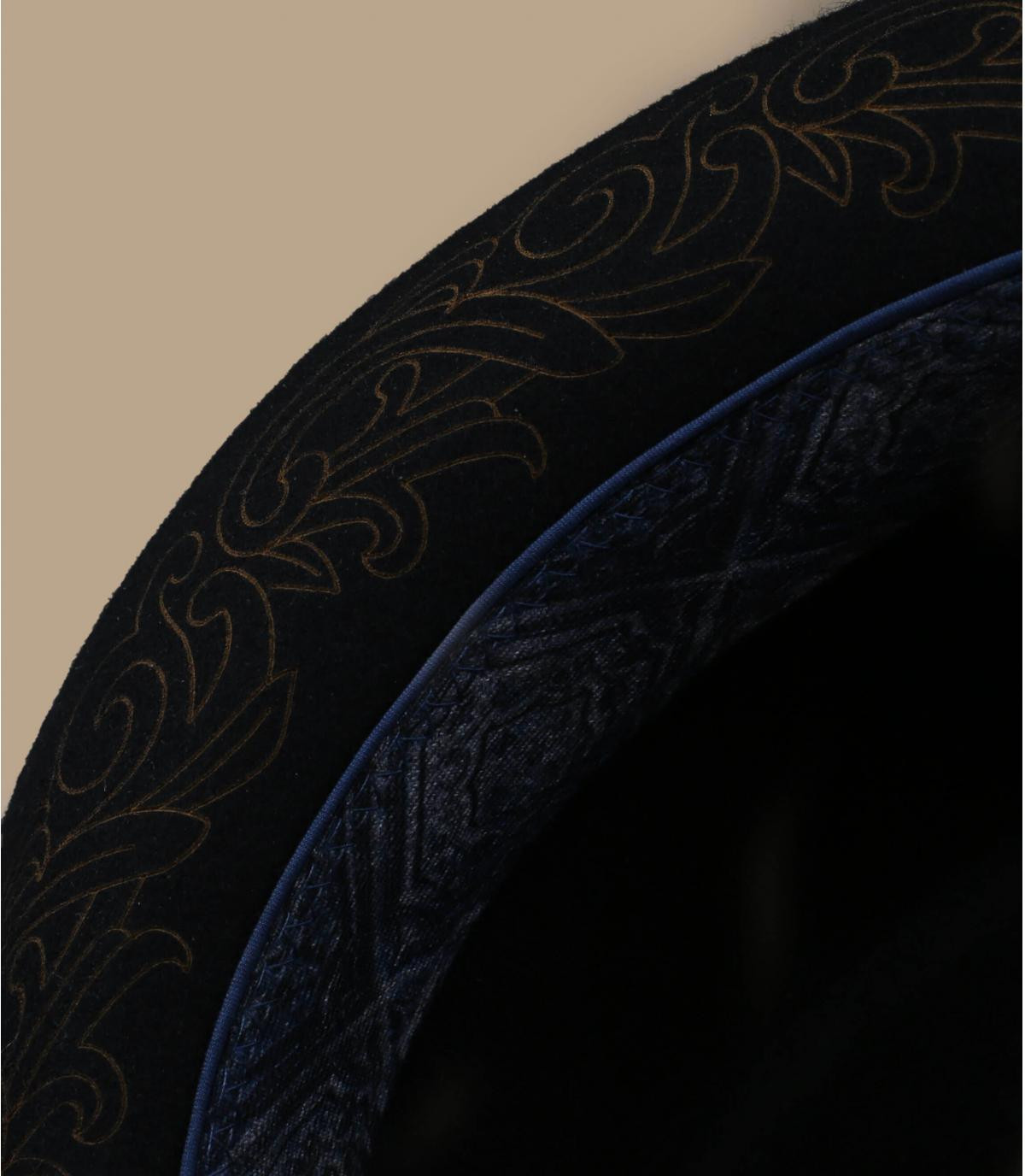 Détails Diamond Woolfelt black - image 3