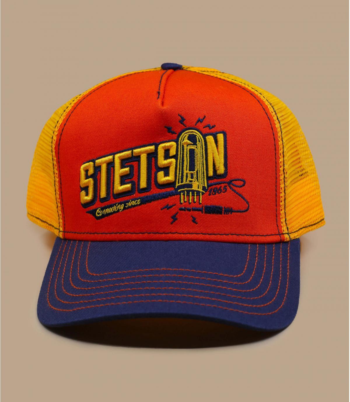 trucker orange Stetson