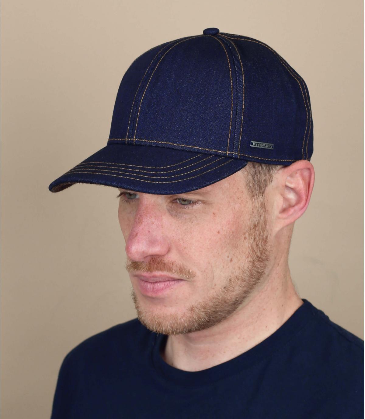 casquette jean Stetson