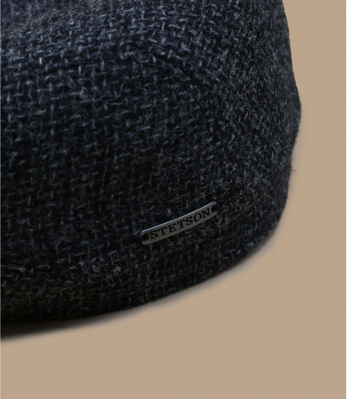béret gris laine Shetland
