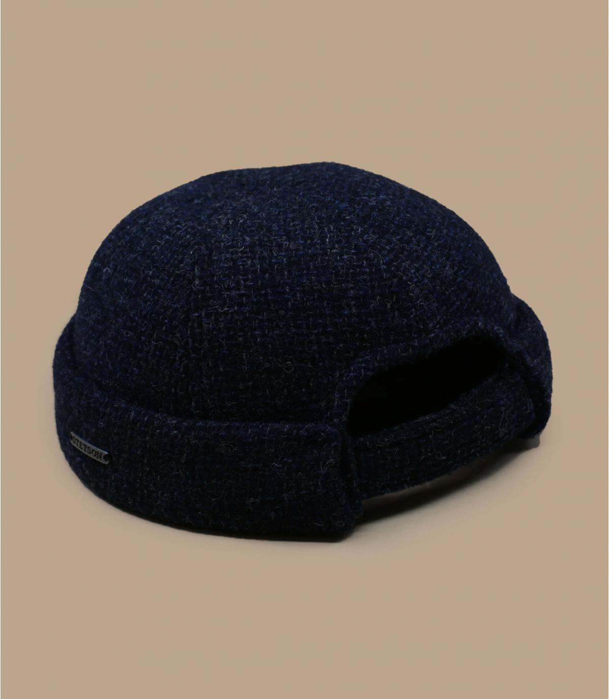 Détails Docker Wool navy - image 3