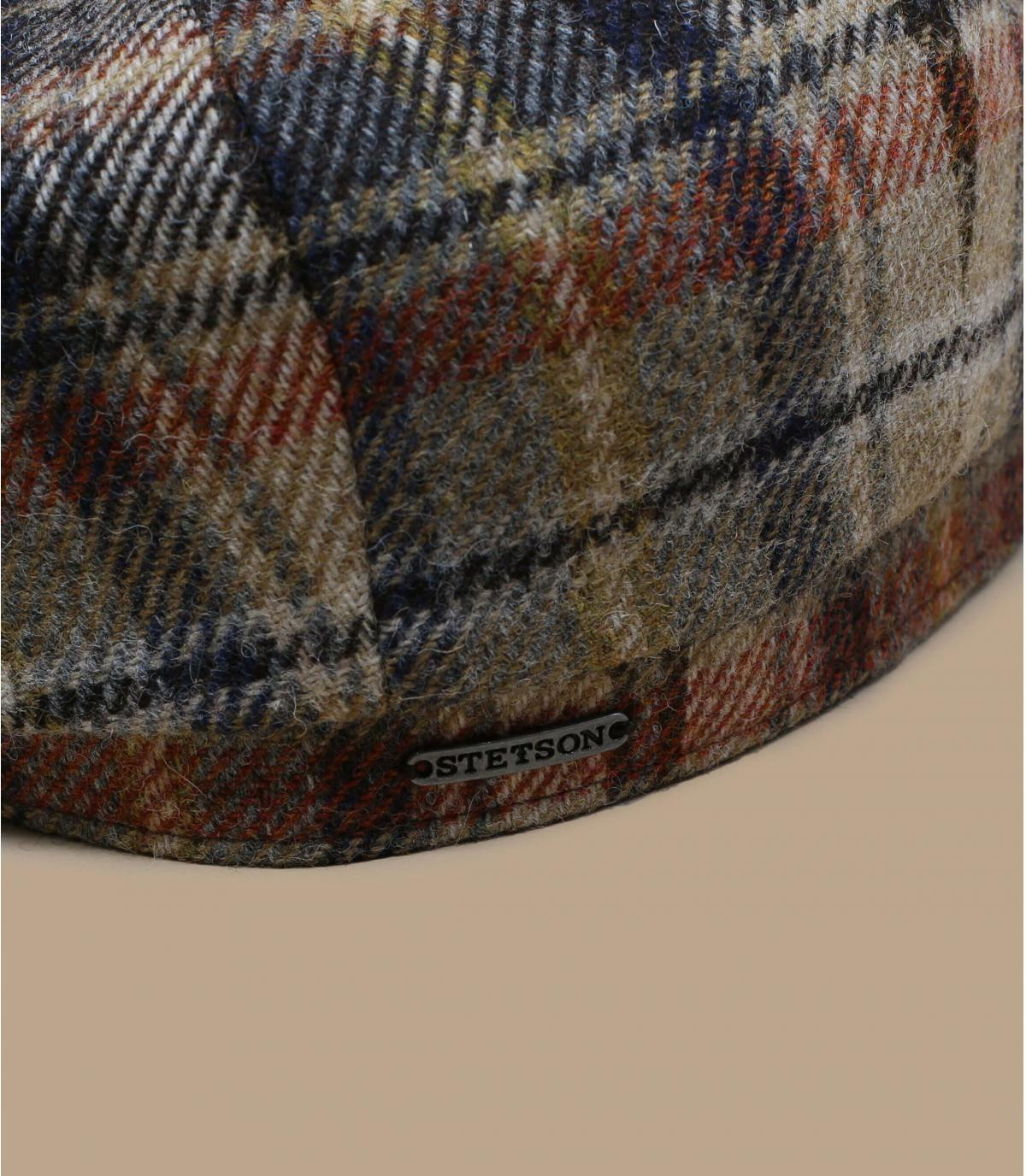 Détails Hatteras Wool Check brown beige - image 1