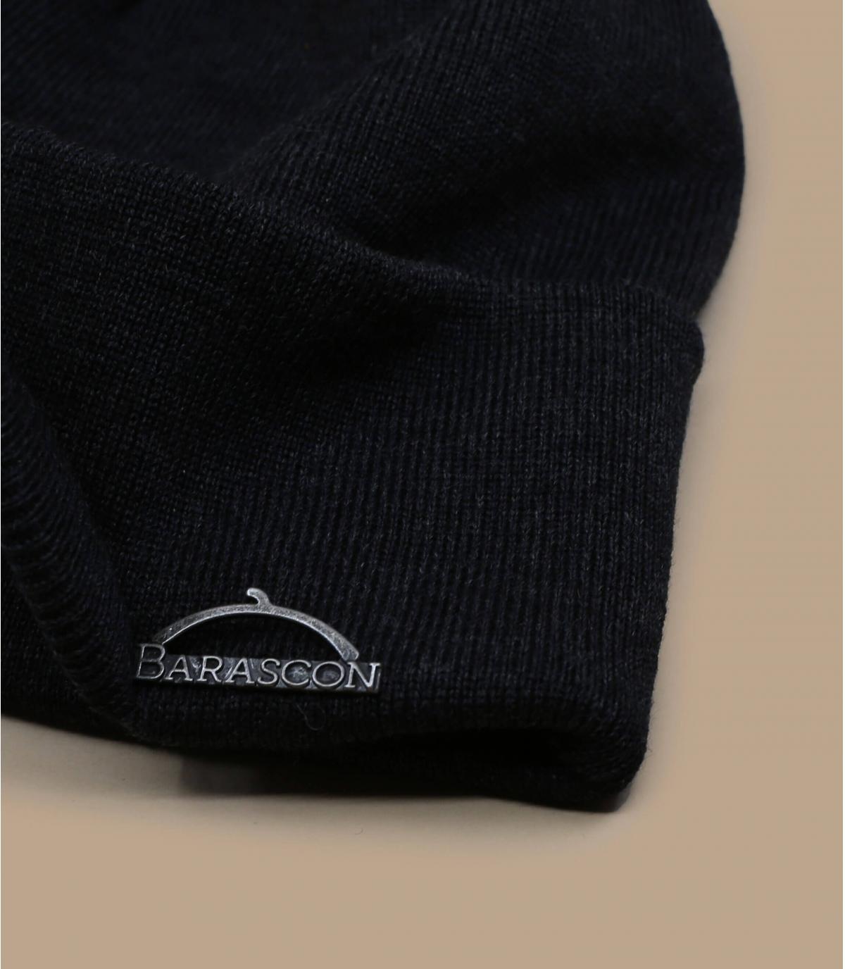 bonnet visière gris laine