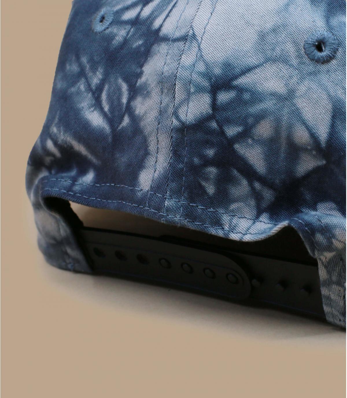 Détails Casquette Tie Dye Stretch Snap NY 950 black - image 4