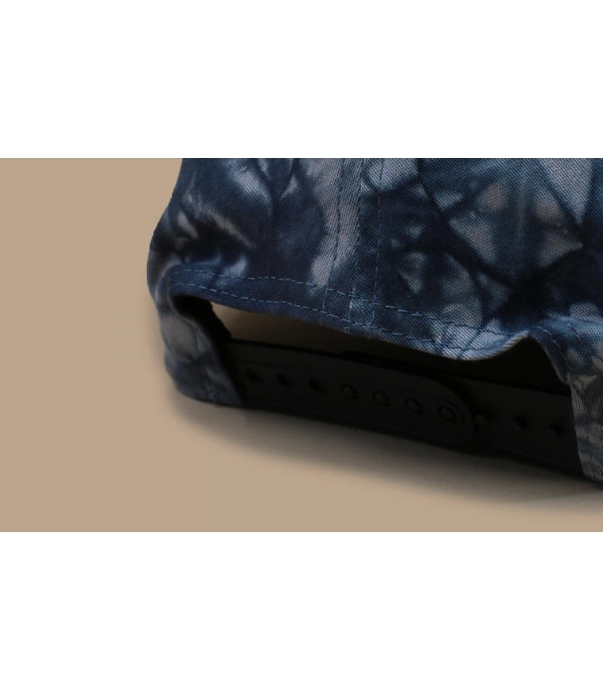 Détails Casquette Tie Dye Stretch Snap NY 950 black - image 5