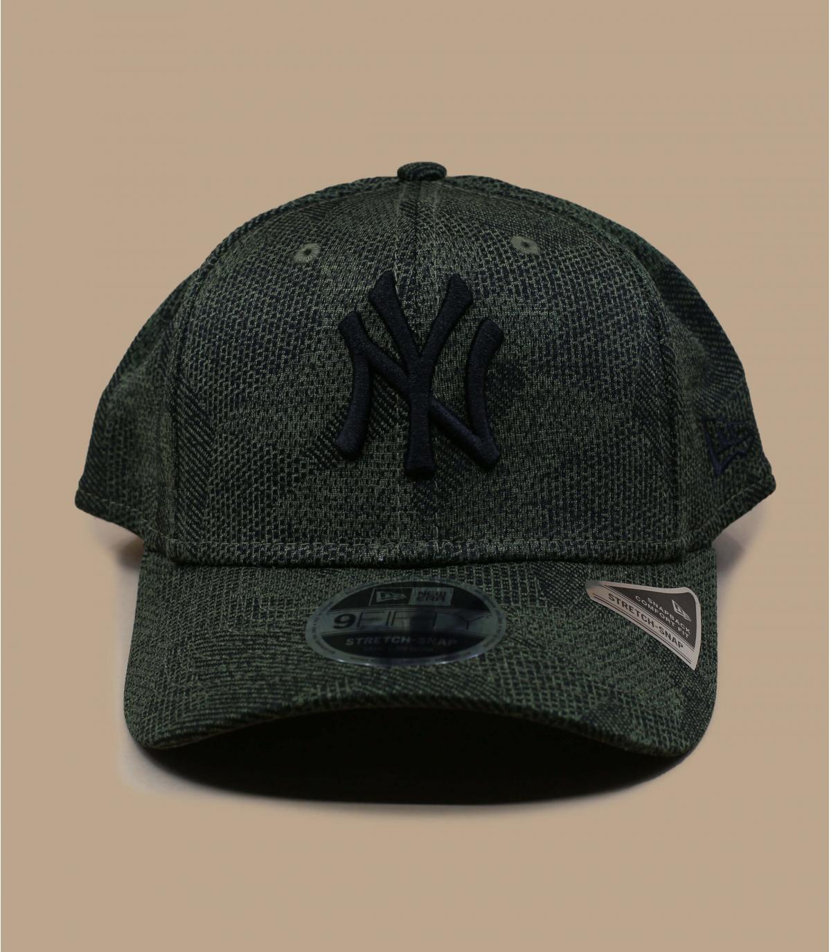 casquette NY stretch vert