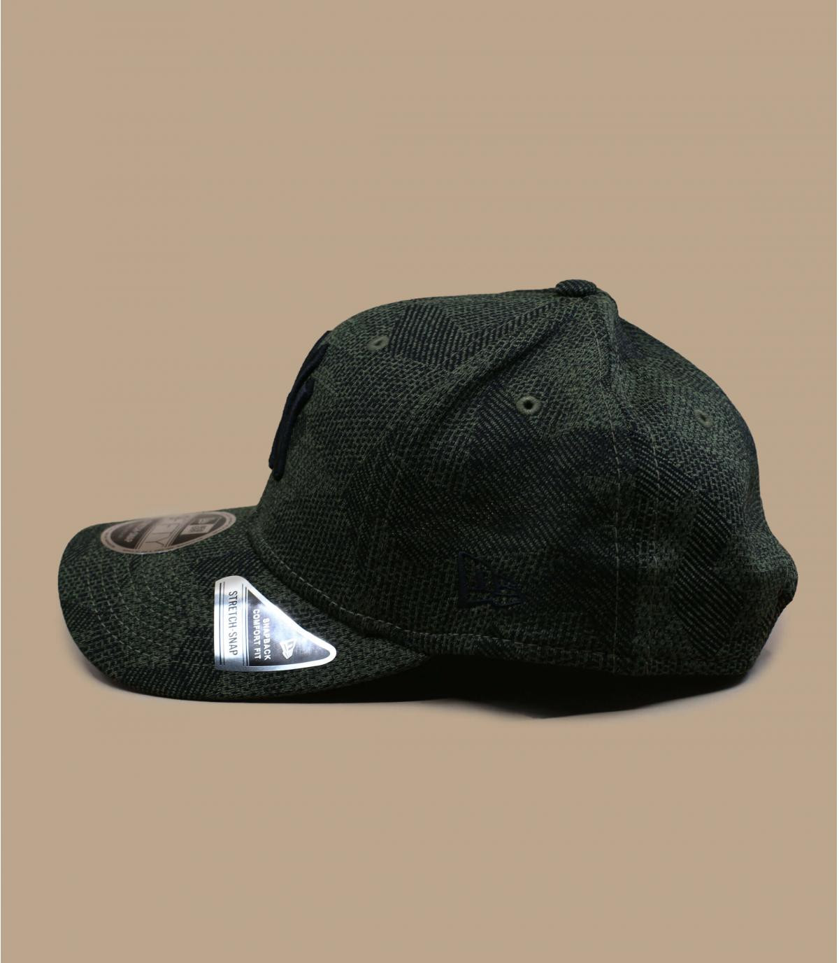 Détails Snapback Engineered Fit Stretch Snap NY 950 olive - image 3