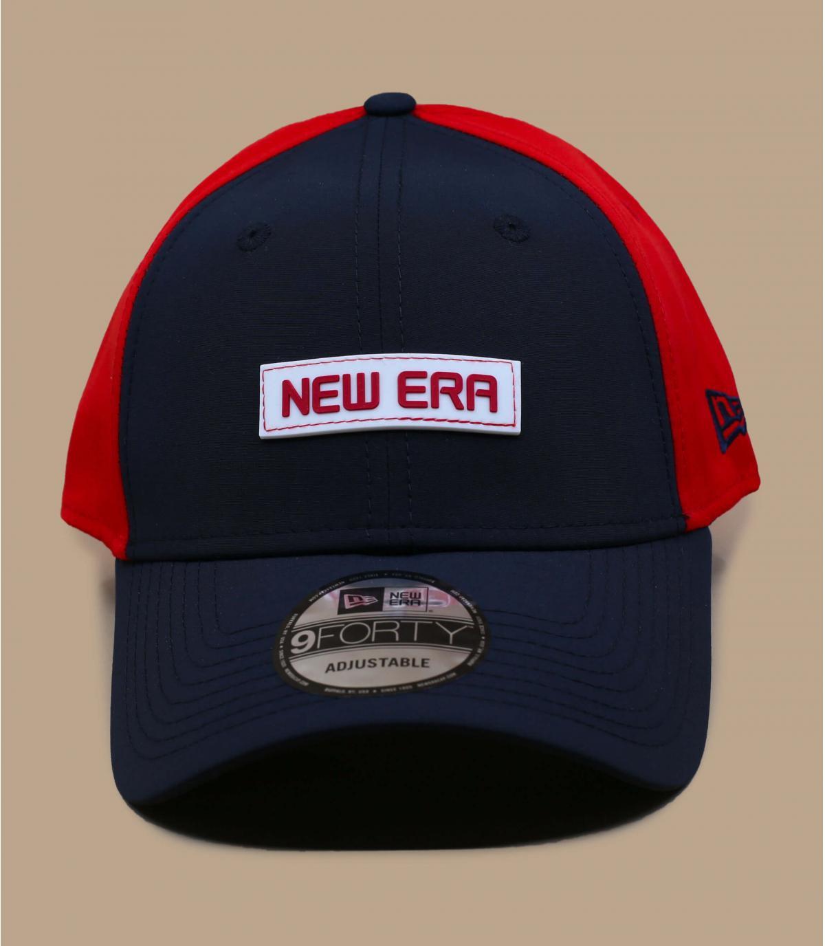 casquette New Era bleu rouge