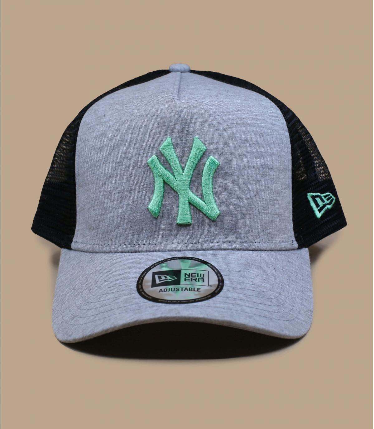 trucker NY gris vert